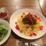 那覇市泉崎の「カナロア テーブル (kanaloa table)でタコライス食べた。ハーバービュー通り