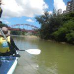 比謝川をマングローブみながらSUPで溯ってみた。