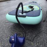 SUPに電動ポンプで空気入れたらシガーソケットが壊れた。