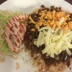 那覇市国際通りでタコライス食べるなら「チャーリー多幸寿」タコスの有名店。