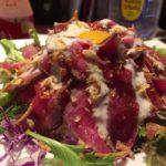 沖縄ブッチャマンでランチ「マウンテンローストビーフ丼」食べた。那覇バスターミナル近く
