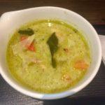 あぱらぎ久茂地店でランチにグリーンカレー食べた。那覇市久茂地