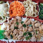 沖縄市のちゃんぷるー市場でお弁当買った。